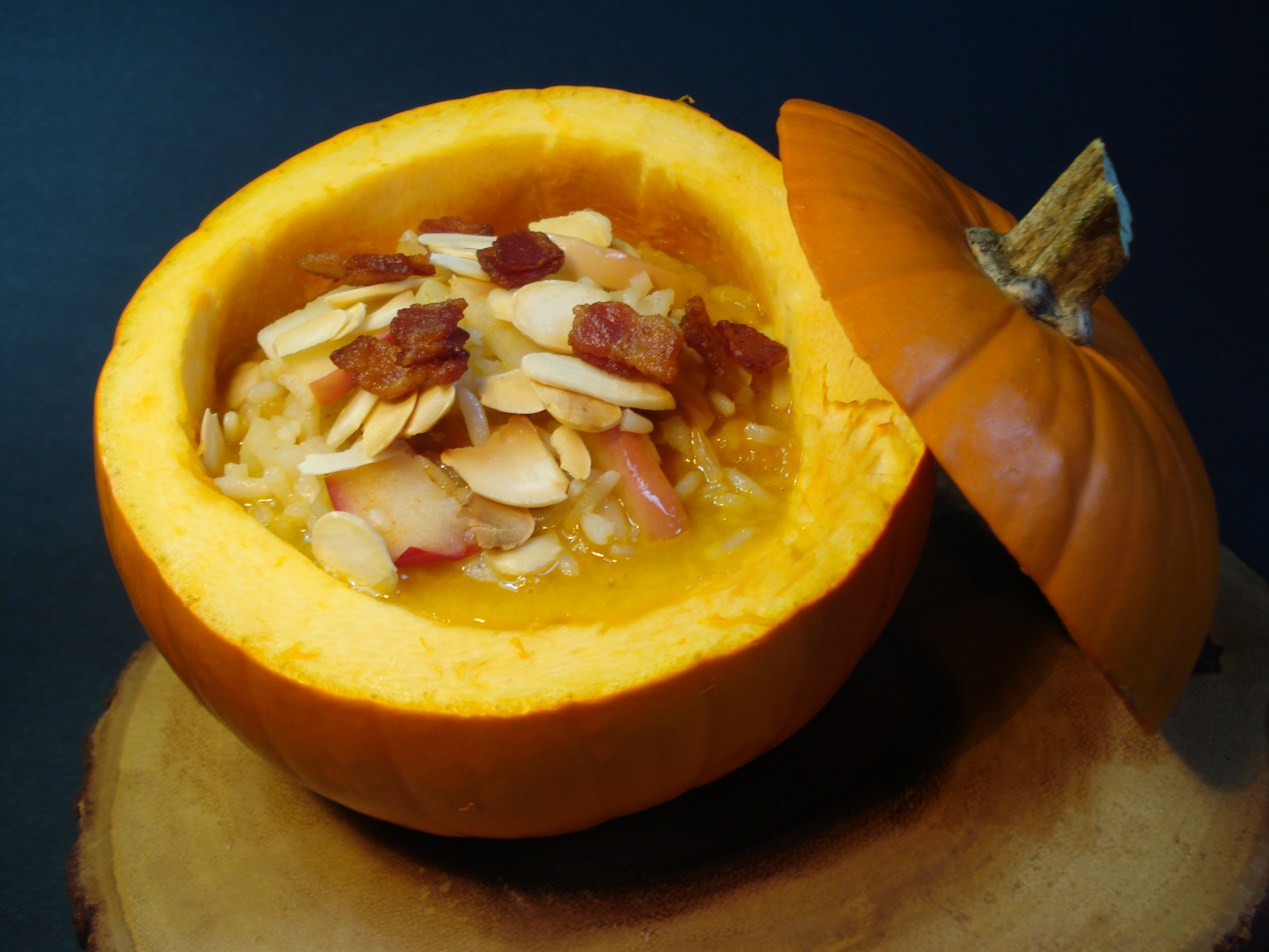 Drum Roll Please! Finally here it is my tried and true pumpkin soup ...