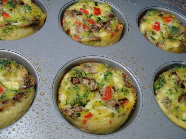 Egg Muffins - fresh from the oven