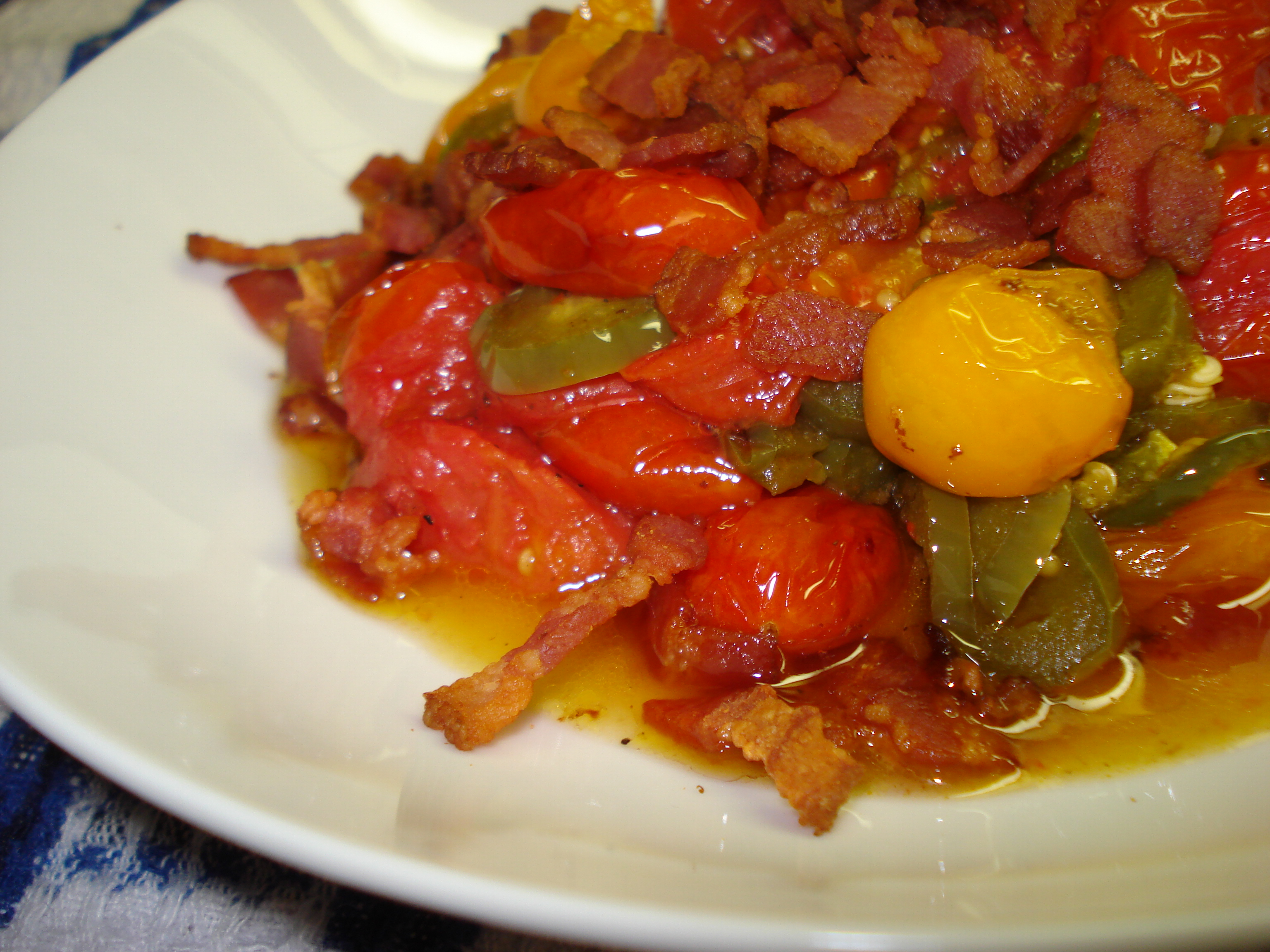 Spicy Tomato Confit | Ruby Reduction