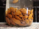 Almonds Soaking in Water
