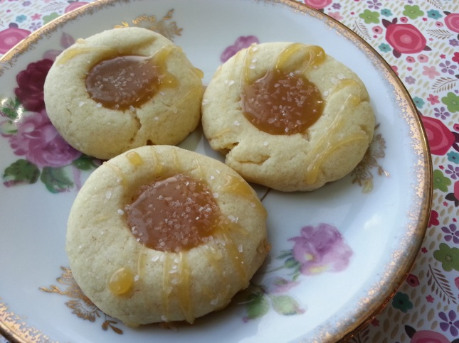 Salted Caramel Butter Cookie