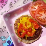 Quinao Black Bean Burger
